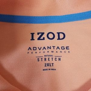 Mens Big & Tall IZOD advantage stretch Polo shirt